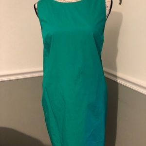 Adorable green dress with back detail
